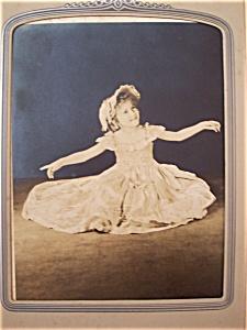 Vintage Photo - 1930's Scarlet O'Hara in Training (Image1)