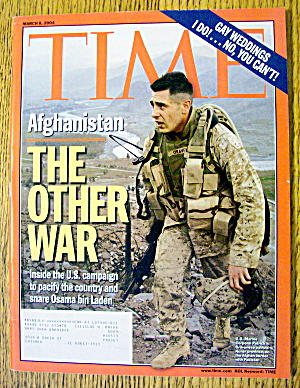 Time Magazine March 8, 2004 The Other War