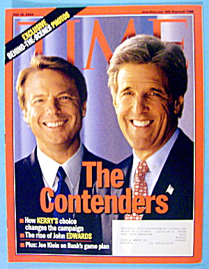 Time Magazine July 19, 2004 The Contenders