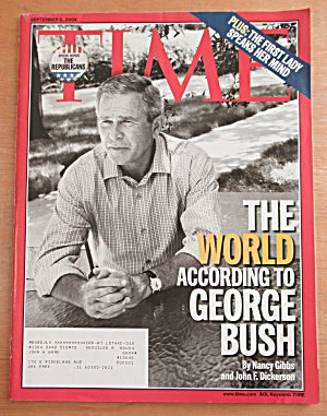 Time Magazine September 6, 2004 George Bush