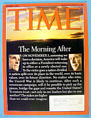 Time Magazine November 1, 2004 The Morning After