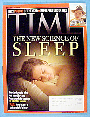 Time Magazine December 20, 2004 The Science Of Sleep