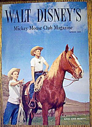 Walt Disney's Mickey Mouse Club Magazine Cover 1956 (Image1)