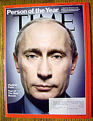 Time Magazine December 31, 2007-january 7, 2008 Putin