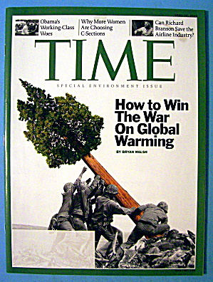 Time Magazine April 28, 2008 War On Global Warming