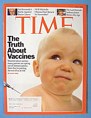 Time Magazine June 2, 2008 The Truth About Vaccines