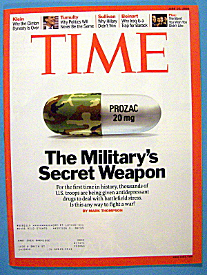 Time Magazine June 16, 2008 The Military Secret Weapon