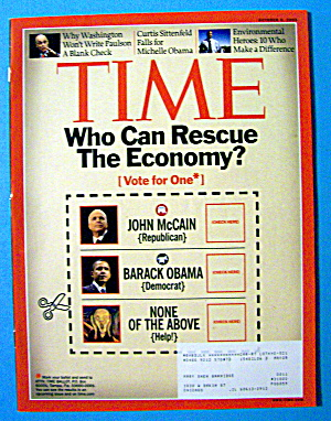 Time Magazine October 6, 2008 Who Can Rescue Economy