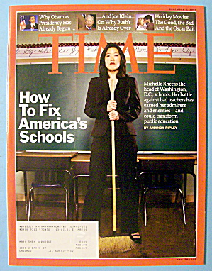 Time Magazine December 8, 2008 Fix America's Schools (Image1)