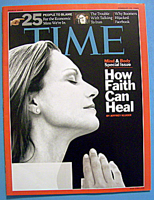 Time Magazine February 23, 2009 How Faith Can Heal