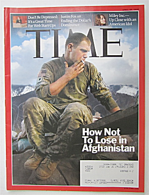 Time Magazine April 20, 2009 How Not To Lose