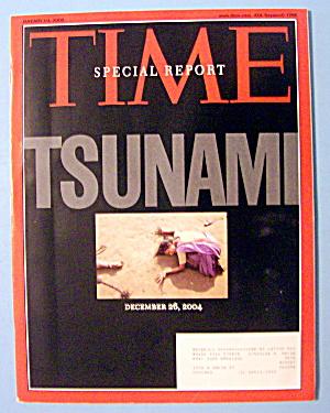 Time Magazine January 10, 2005 Tsunami (Image1)