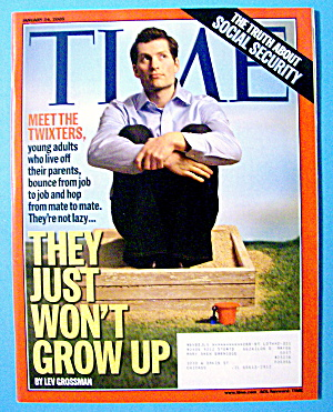 Time Magazine January 24, 2005 They Just Won't Grow Up