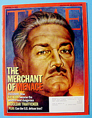 Time Magazine February 14, 2005 The Merchant Of Menace