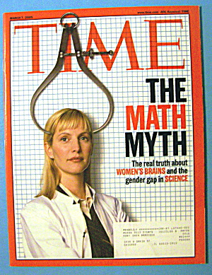 Time Magazine March 7, 2005 The Math Myth