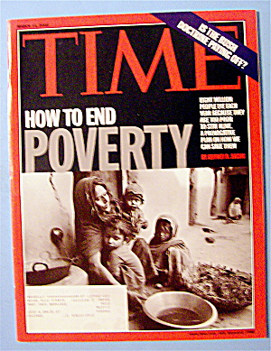 Time Magazine March 14, 2005 How To End Poverty