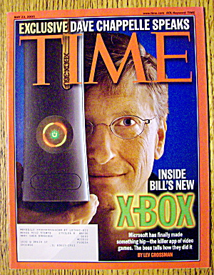 Time Magazine May 23, 2005 Inside Bill's New Xbox (Image1)