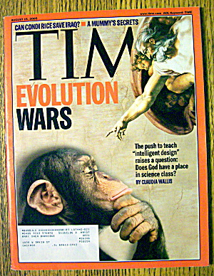 Time Magazine August 15, 2005 Evolution Wars