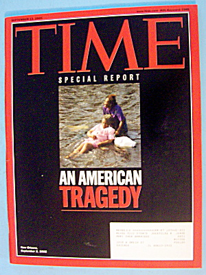 Time Magazine September 12, 2005 An American Tragedy