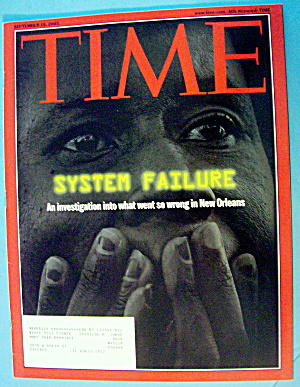 Time Magazine September 19, 2005 System Failure