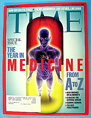 Time Magazine December 5, 2005 Medicine From A To Z