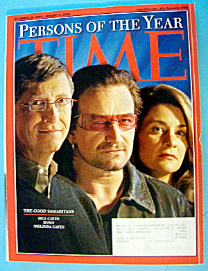 Time Magazine December 26, 2005-january 2, 2006