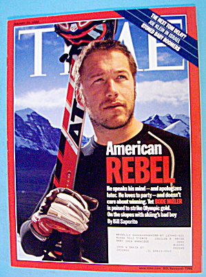 Time Magazine January 23, 2006 American Rebel