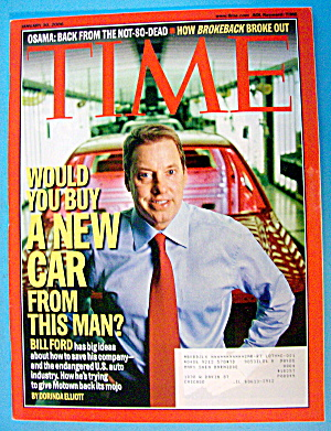 Time Magazine January 30, 2006 Would You Buy A New Car