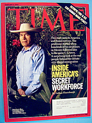 Time Magazine February 6, 2006 America Secret Workforce