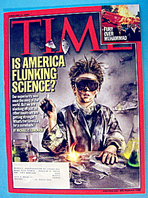 Time Magazine February 13, 2006 Is America Flunking