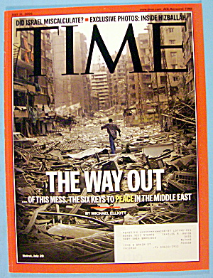 Time Magazine July 31, 2006 The Way Out