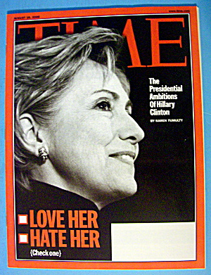 Time Magazine August 28, 2006 Love Her, Hate Her