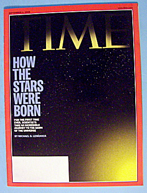 Time Magazine September 4, 2006 How The Stars Were Born