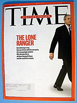 Time Magazine November 6, 2006 The Lone Ranger (Image1)