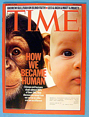 Time Magazine October 9, 2006 How We Became Human