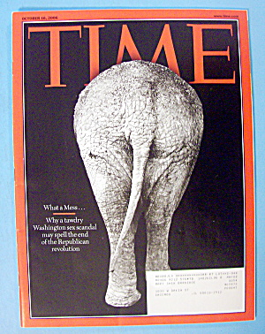 Time Magazine October 16, 2006 What A Mess