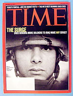 Time Magazine January 15, 2007 The Surge (Image1)