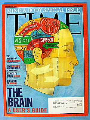 Time Magazine January 29, 2007 The Brain