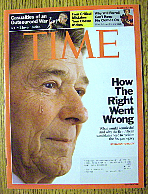 Time Magazine March 26, 2007 How The Right Went Wrong