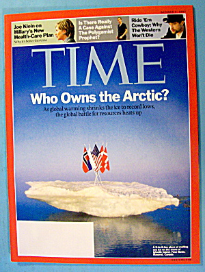 Time Magazine October 1, 2007 Who Owns The Arctic?