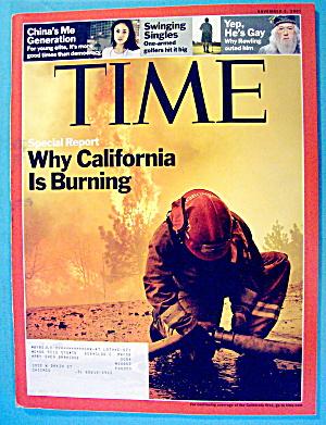 Time Magazine November 5, 2007 California Is Burning (Image1)