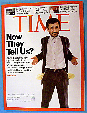 Time Magazine December 17, 2007 Now They Tell Us? (Image1)