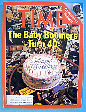 Time Magazine May 19, 1986 The Baby Boomers Turn 40