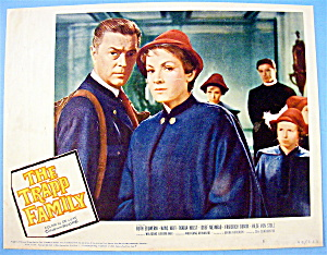 The Trapp Family Lobby Card 1960 Ruth Eluwerik
