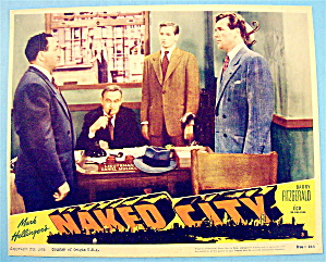 Naked City Lobby Card 1956 Barry Fitzgerald