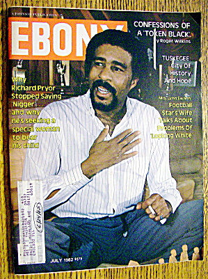 Ebony Magazine July 1982 Richard Pryor