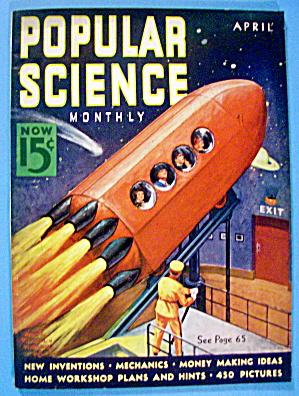Popular Science Magazine April 1938 Rocket Ride (Image1)
