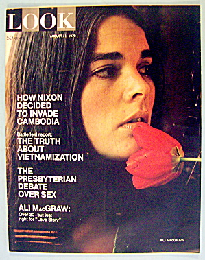 Look Magazine August 11, 1970 Ali MacGraw (Image1)