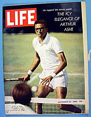 Life Magazine September 20, 1968 Arthur Ashe (Image1)