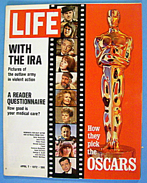 Life Magazine April 7, 1972 The Oscars